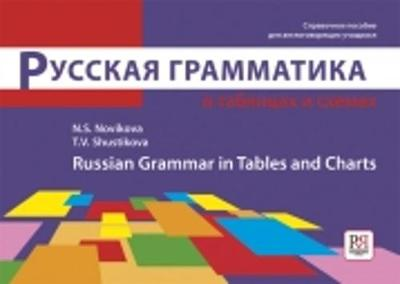Russian Grammar in Tables and Charts: Russkaya grammatika (Paperback)