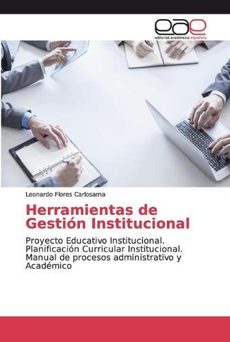 Herramientas de Gestion Institucional (Paperback)