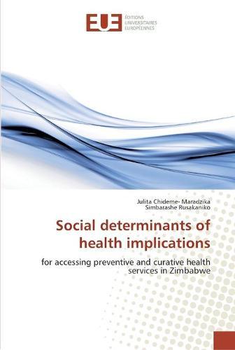 Social determinants of health implications (Paperback)