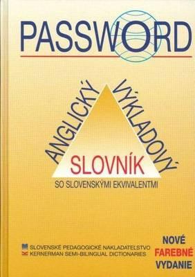 Password English-English-Slovak Dictonary: With Slovak-English Index (Hardback)