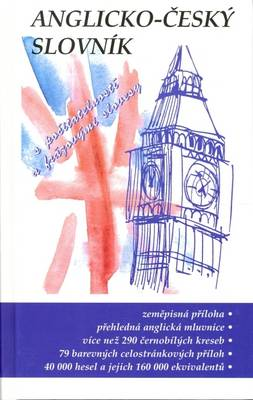 English-Czech Dictionary: With Sections on Czech Grammar, Countability, Geography and Economics (Hardback)