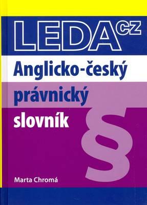 English-Czech Law Dictionary (Hardback)