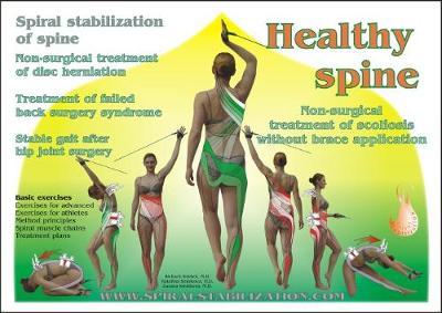 Healthy Spine: Spiral Stabilization of Spine (Hardback)