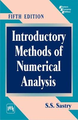Introductory Methods of Numerical Analysis (Paperback)