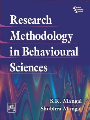 Research Methodology in Behavioural Sciences (Paperback)