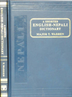 The Shorter English-Nepali Dictionary (Hardback)