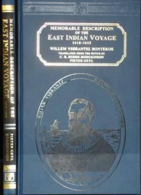 Memorable Description of the East Indian Voyage, 1618-1625 (Hardback)