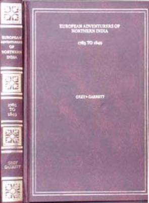 European Adventures of Northern India: 1725-1849 (Hardback)