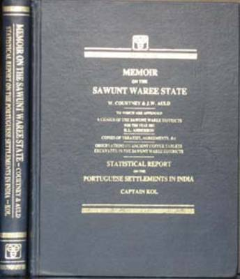 Memoir on the Sawunt Waree State (Hardback)
