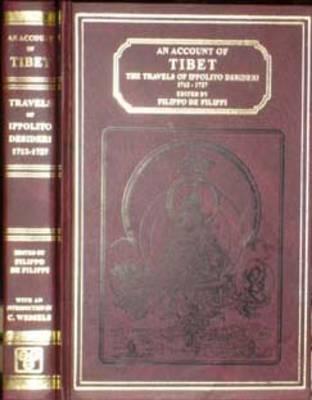 Account of Tibet: Travels of Ippolito Desideri of Pistoia, S.J.1717-27 (Hardback)