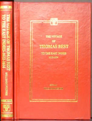Voyage of Thomas Best to the East Indies, 1612-14 (Hardback)