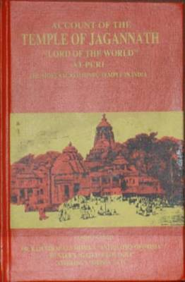 Account of the Temple of Jagannath, Lord of the World at Puri (Hardback)