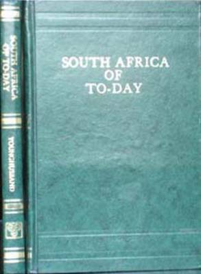 South Africa of To-day (Hardback)