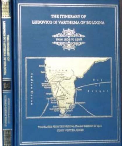 Itinerary of Ludovico Di Varthema of Bologna from 1502 to 1508 (Hardback)