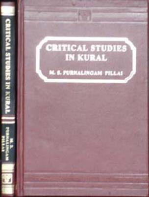 Critical Studies in Kural (Hardback)