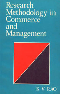 Research Methology in Commerce & Management (Paperback)