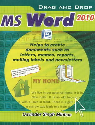 Drag & Drop MS Word 2010 (Paperback)