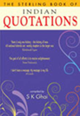 Sterling Book of Indian Quotations (Paperback)