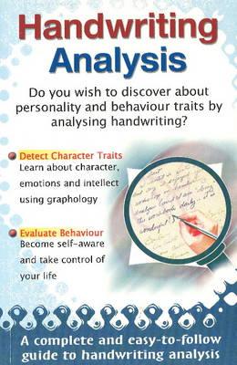 Handwriting Analysis (Paperback)