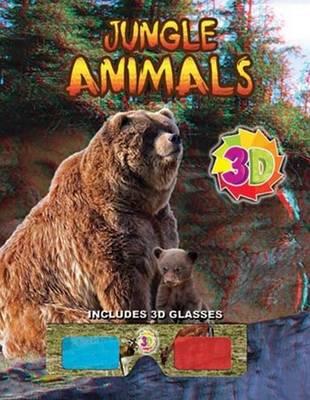 Jungle Animals (3D) (Paperback)