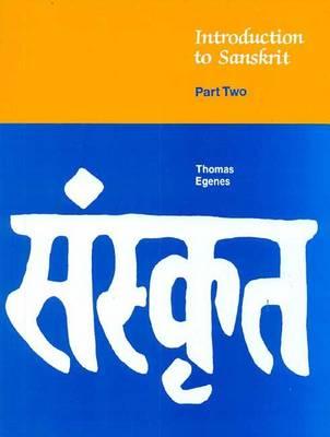 Introduction to Sanskrit: Part 2 (Hardback)