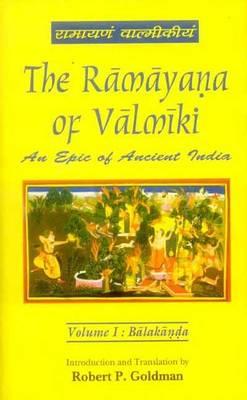 The Ramayana of Valmiki: An Epic of Ancient India (Hardback)