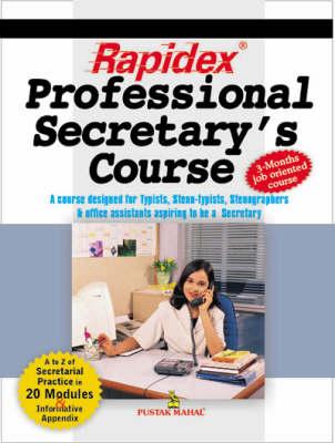 Rapidex Professional Secretary's Course (Paperback)