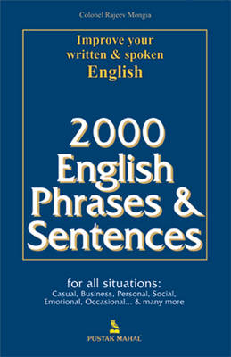 2000 English Phrases and Sentences (Paperback)