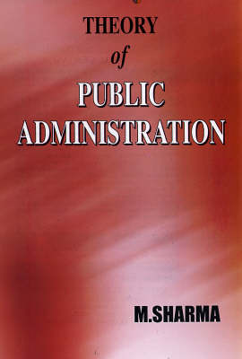 Theory of Public Administration (Hardback)