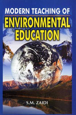 Modern Teaching of Environmental Education (Hardback)