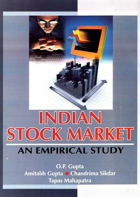 Indian Stock Market: An Empirical Study (Hardback)