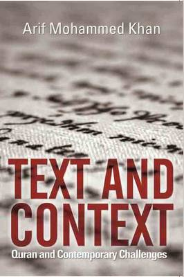 Text and Context (Hardback)