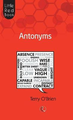 Little Red Book Antonyms (Paperback)