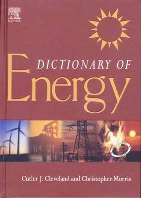 Dictionary of Energy: (South Asia Edition) (Hardback)
