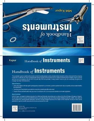 Handbook of Instruments (Paperback)