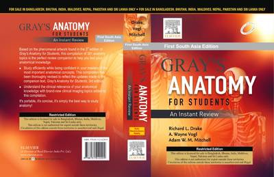 Gray's Anatomy for Students: An Instant Review (Paperback)