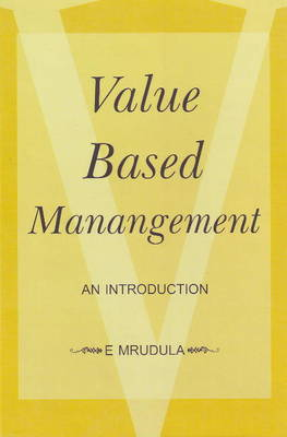 Value Based Management: An Introduction (Hardback)