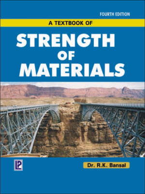 A Textbook of Strength of Materials (Hardback)