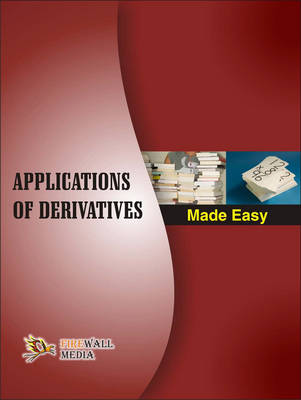 Applications of Derivatives Made Easy (Paperback)