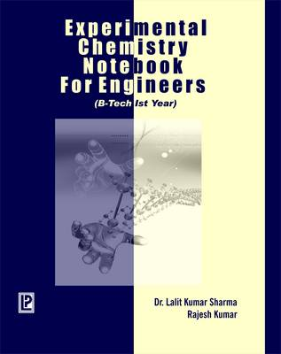 Experimental Chemistry Notebook for Engineers (Paperback)