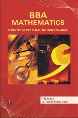 BBA Mathematics (MDU, Rohtak) (Paperback)