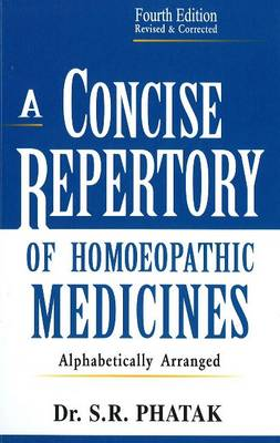 Concise Repertory of Homeopathic Medicines (Paperback)