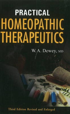Practical Homeopathic Therapeutics (Paperback)