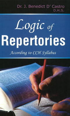 Logic of Repertories: According to CCH Syllabus (Paperback)