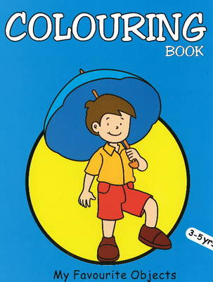 My Favourite Objects Colouring Book (Paperback)