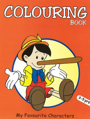 My Favourite Characters Coloring Book (Paperback)