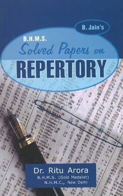 BHMS Solved Papers in Repertory (Paperback)