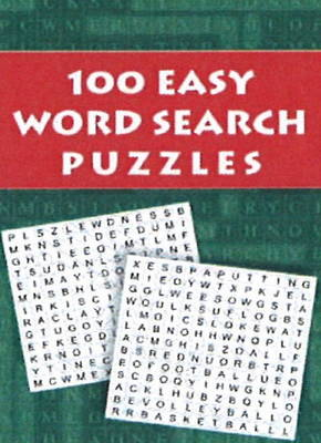 100 Easy Word Search Puzzles (Paperback)