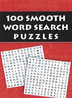 100 Smooth Word Search Puzzles (Paperback)