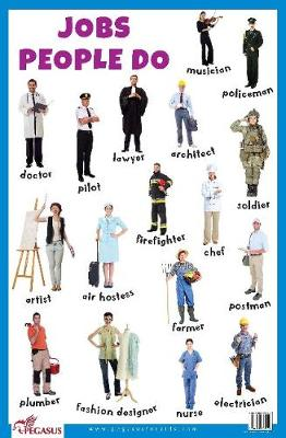 Jobs People Do Educational Chart (Poster)